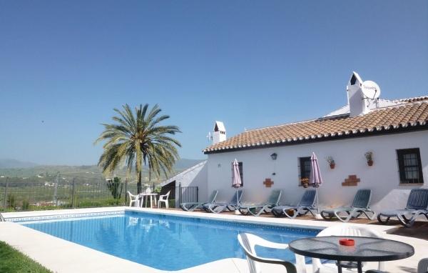Hus med pool i Spanien