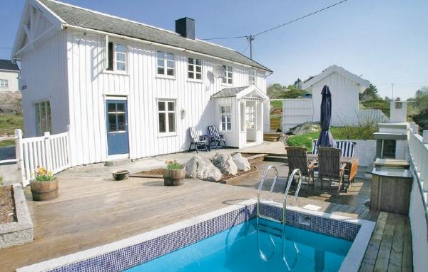 Hus med pool i Norge