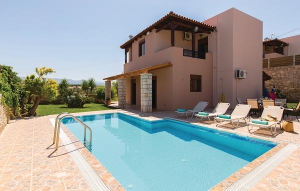 Hus med pool i Kreta