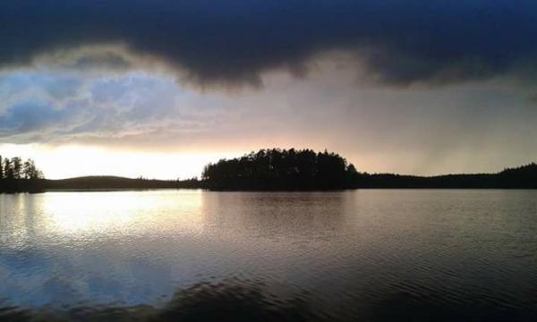 Utsikt i Storsjön